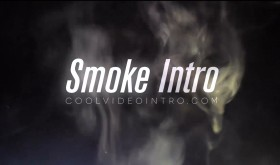smoke intro - after effects FREE